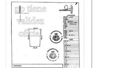 Terreno En Venta De Sitpach 8 Mil M2 Para Inversionistas