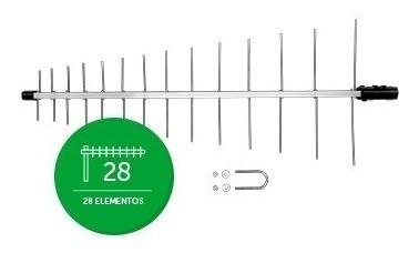 Antena Externa Digital Uhf Intelbras Ae 1028 Para Conversor