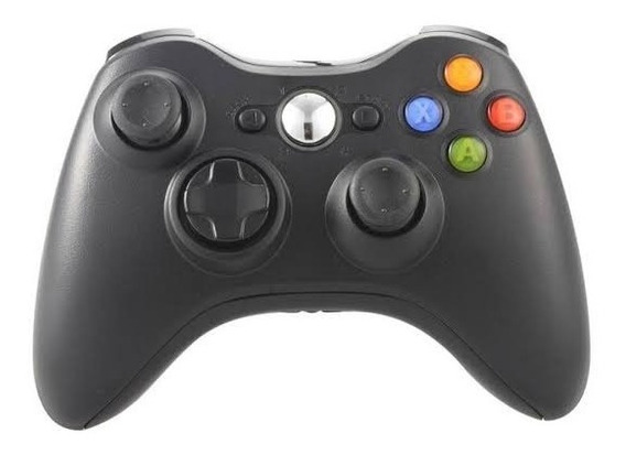 Controle P/ Jogos Sem Fio Xbox 360 Ps3 Android Pc