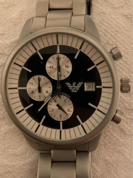 Relógio Empório Armani Ar5117. Caixas, Manuais E Elos Extras