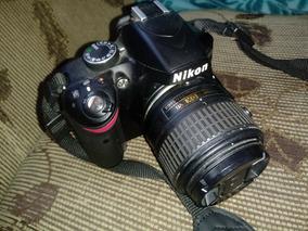 Nikon D3200 (usada) 11k Cliques