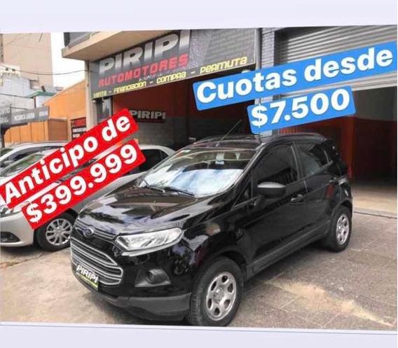 Ford Ecosport 1.6 Se 110cv 4x2 2014, Financia Solo Con Dni