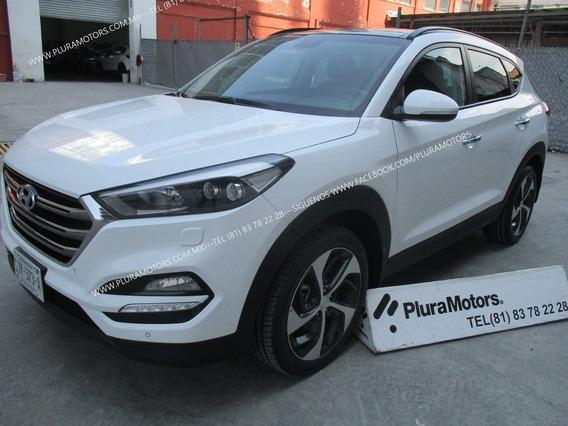 Hyundai Tucson Limited Tech Navi 2017 Quemacocos $325,000