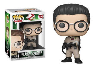 Funko Pop Dr Egon Spengler #743 Ghostbusters Jugueterialeon