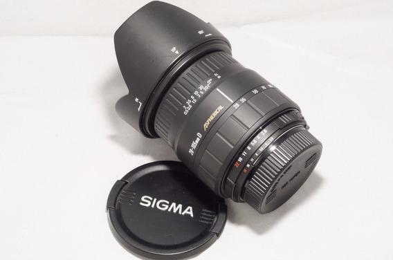 Lente Sigma 28 105 Nikon