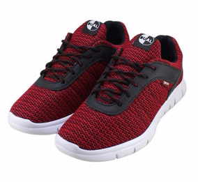 Tênis Dual Footwear Livre - Vermelho