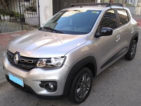 Renault Kwid Intense 1.0 12v Prata Modelo 2018