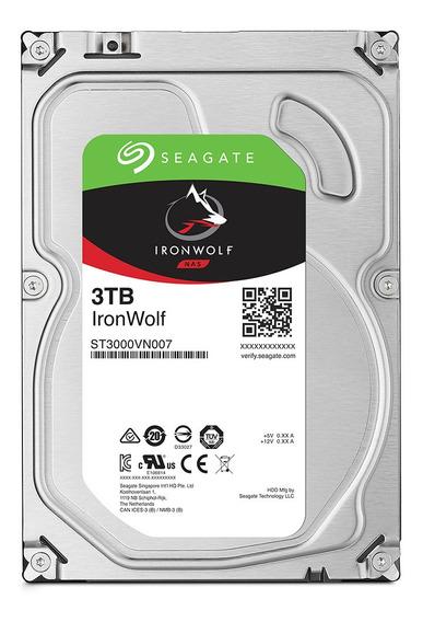 Hd Seagate Ironwolf 3.5 Sata 3tb
