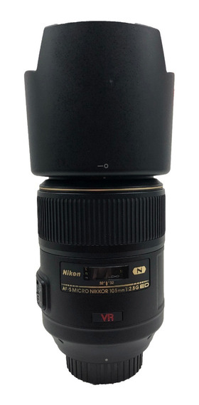 Lente Nikon Af-s Vr 105mm F / 2.8g Ed Usada