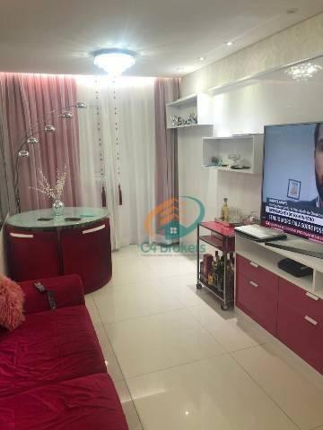 Apartamento Com 2 Dormitórios À Venda, 59 M² Por R$ 425.000,00 - Picanco - Guarulhos/sp - Ap1877