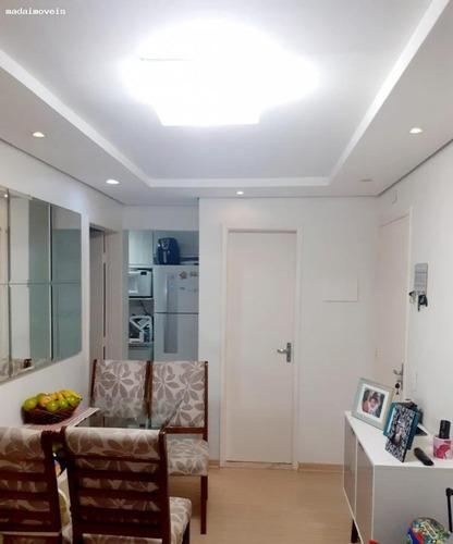 Apartamento Para Venda Em Mogi Das Cruzes, Vila Caputera, 2 Dormitórios, 1 Banheiro, 1 Vaga - 2912_2-1132268