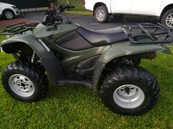 Honda Trx 420 4x4 2011 Impecable Semi At