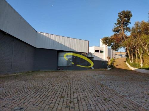 Imagem 1 de 14 de Galpão Para Alugar, 2400 M² Por R$ 45.000,00/mês - Jardim Araruama - Cotia/sp - Ga0440
