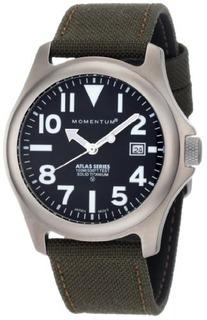Reloj De Titanio Atlas 1msp00b6g De Momentum Para Hombre Con