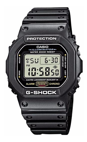 Relógio Casio G-shock Dw-5600e 1vq Dw5600 Wr-200mt Prata