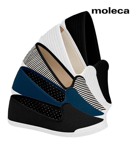 Sapato Feminino Sapatilha Alpargata Moleca Palmilha Conforto