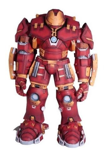 Hulkbuster Papercraft, Ironman De Papel Para Armar Modelismo