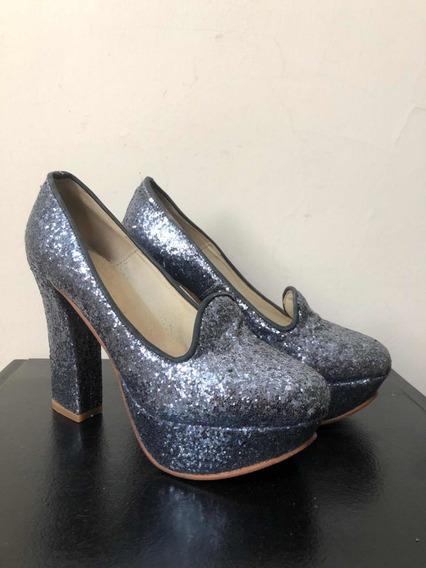 Zapatos Glitter Marcela Luna