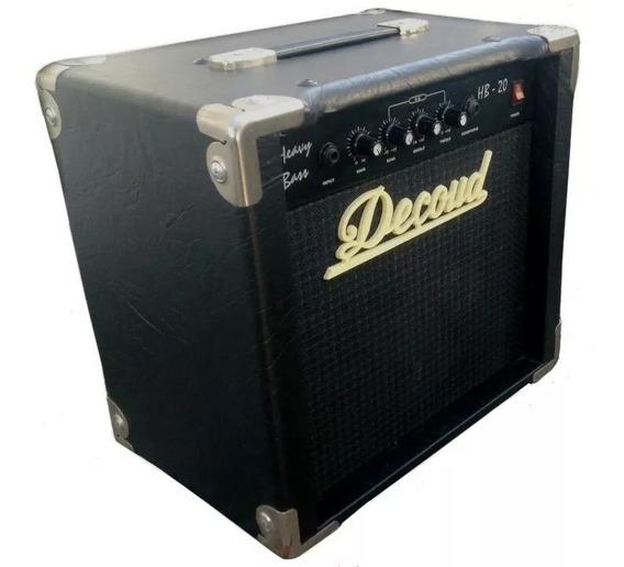 Amplificador De Bajo Decoud Hb-20 20 Watts