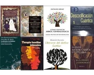 Psicogenealogía. Transgeneracional. Colección 21 Titulos@@@
