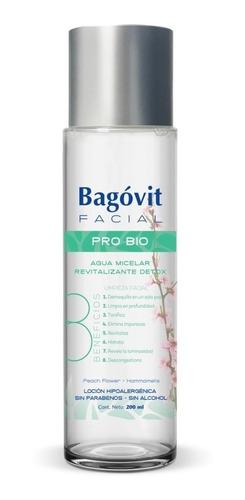 Imagen 1 de 6 de Bagovit Facial Pro Bio Agua Micelar 200ml
