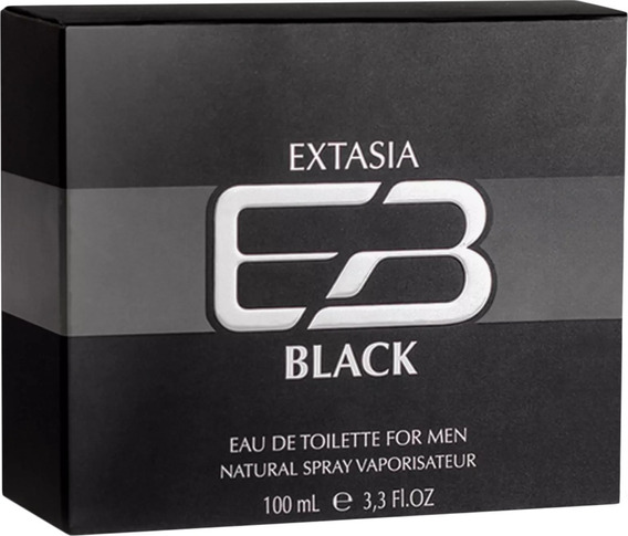 Perfume Extasia Black Masculino Eau De Toilette