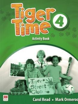 Tiger Time Activity Book ¿ 4