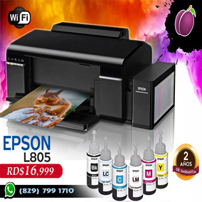 Impresora Epson L805 Wifi 6 Colores