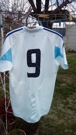 Camiseta De La Seleccion Argentina .blanca Año 2003 Al 2005