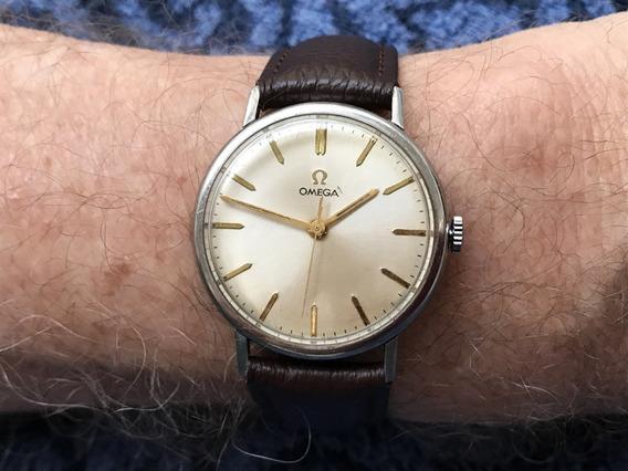 Relógio Omega Calibre 286 Até A Coroa Original - Maravilhoso