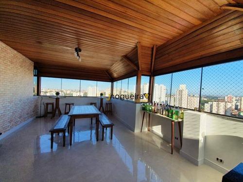 Cobertura Com 3 Dormitórios À Venda, 132 M² Por R$ 1.050.000,00 - Vila Sofia - São Paulo/sp - Co0138