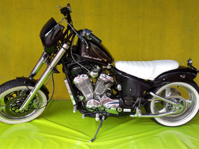 Moto Custom Chopper Honda Shadow Vlx 600cc 1997