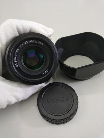Lente Panasonic Leica Dg Summilux 25mm F / 1.4 Asph