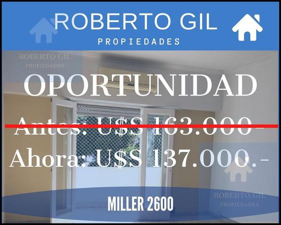 Miller 2600 - Dpto 3 Amb C/ Balcón - Oportunidad - Villa Urquiza