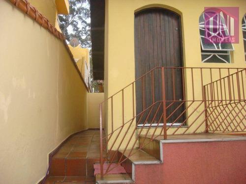 Casa  Residencial À Venda, Parque Novo Oratório, Santo André. - Ca0031