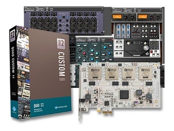 Universal Audio Uad-2 Quad Custom Com 15 Premiados Plugins