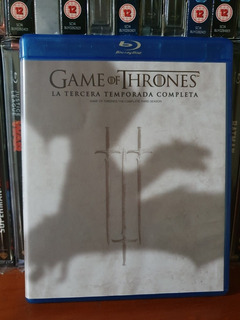 Bluray Game Of Thrones 3ra Temporada Usado Exc Estado