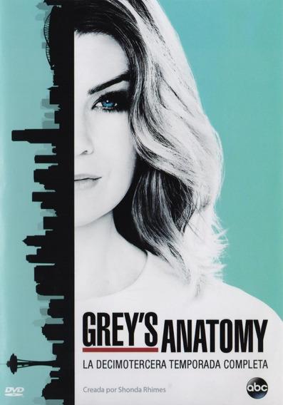 Grey S Anatomy Treceava Temporada 13 Trece Dvd