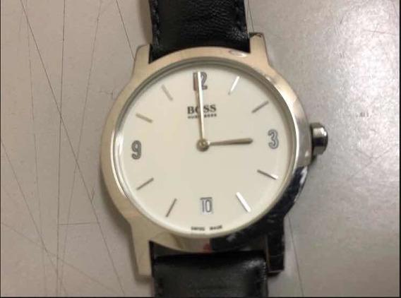 Relógio Hugo Boss Swiss Made Modelo Social/classico