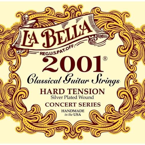 Encordado Guitarra Clasica La Bella 2001 Hard Tension