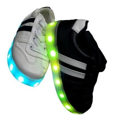 Oferta Zapatos Con Luces Recargables Incluye Cable Usb