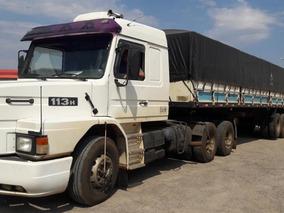 Scania 113h 360 Top Line + Carreta Ls