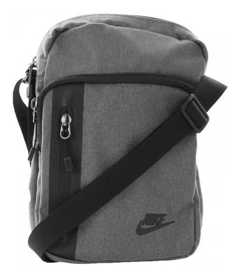 Bolsa Nike Shoulder Bag Small Cross Body Cinza Frete Grátis