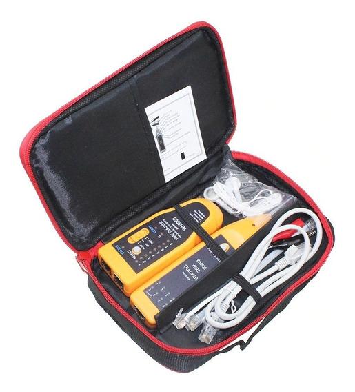Testador Localizador De Cabo Rj45 Rj11 Coaxial Wh806b