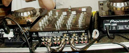 Cdj 350 Mixer Behringer Vmx 300 Usb + Case
