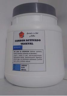 Carbón Vegetal Activado - 500gr