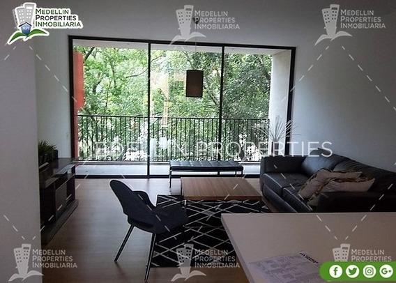Alquiler De Apartamentos Amoblados En Medellín Cód: 4606
