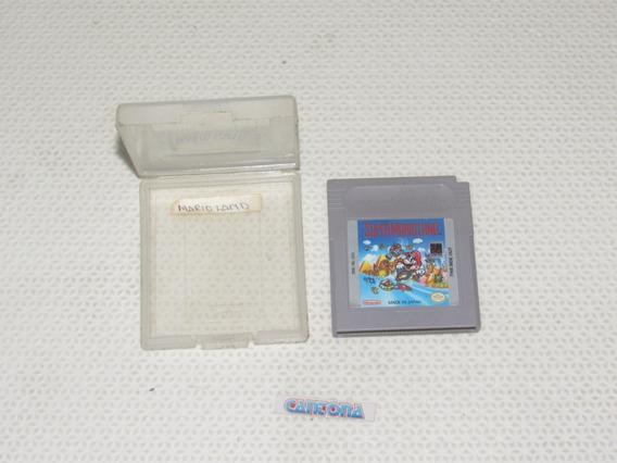 Super Mario Land Original Com Case Game Boy