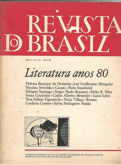 Revista Do Brasil Ano 2 N. 5 / 86 - Literatura Anos 80