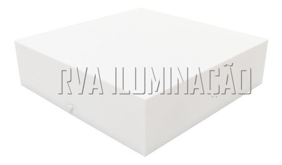 Plafon De Sobrepor Acrilico 20x20 Luminaria